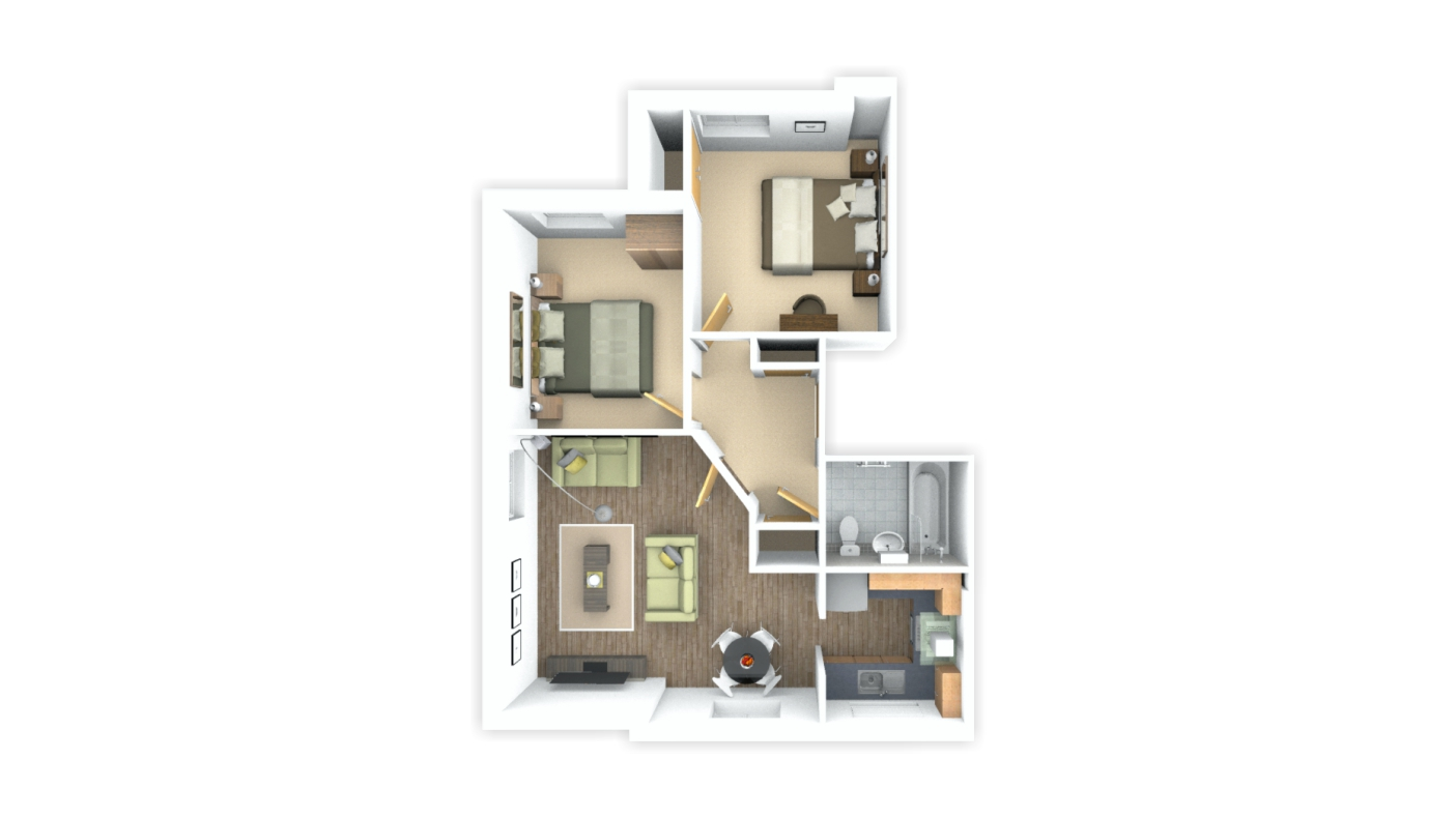 3d Floor Plan Ben Williams Home Design And Architectural
