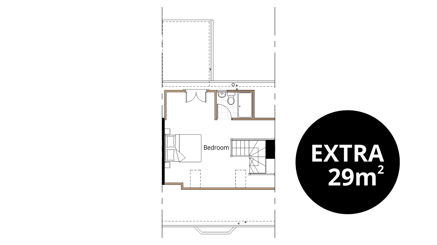 Loft conversion ben williams home design and - Dormer window house plans extra personality ...