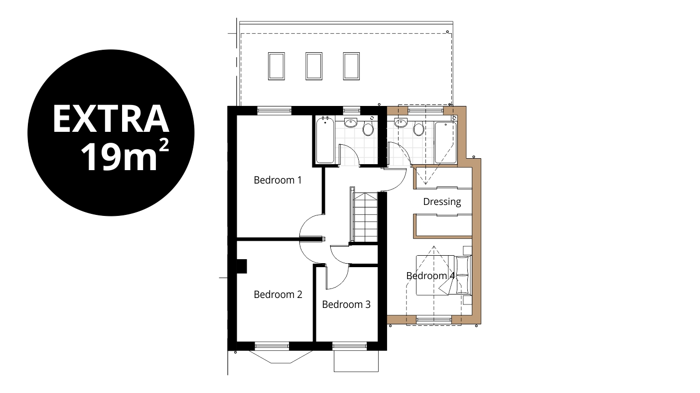 Two Storey Extension Ben Williams Home Design And Architectural Services