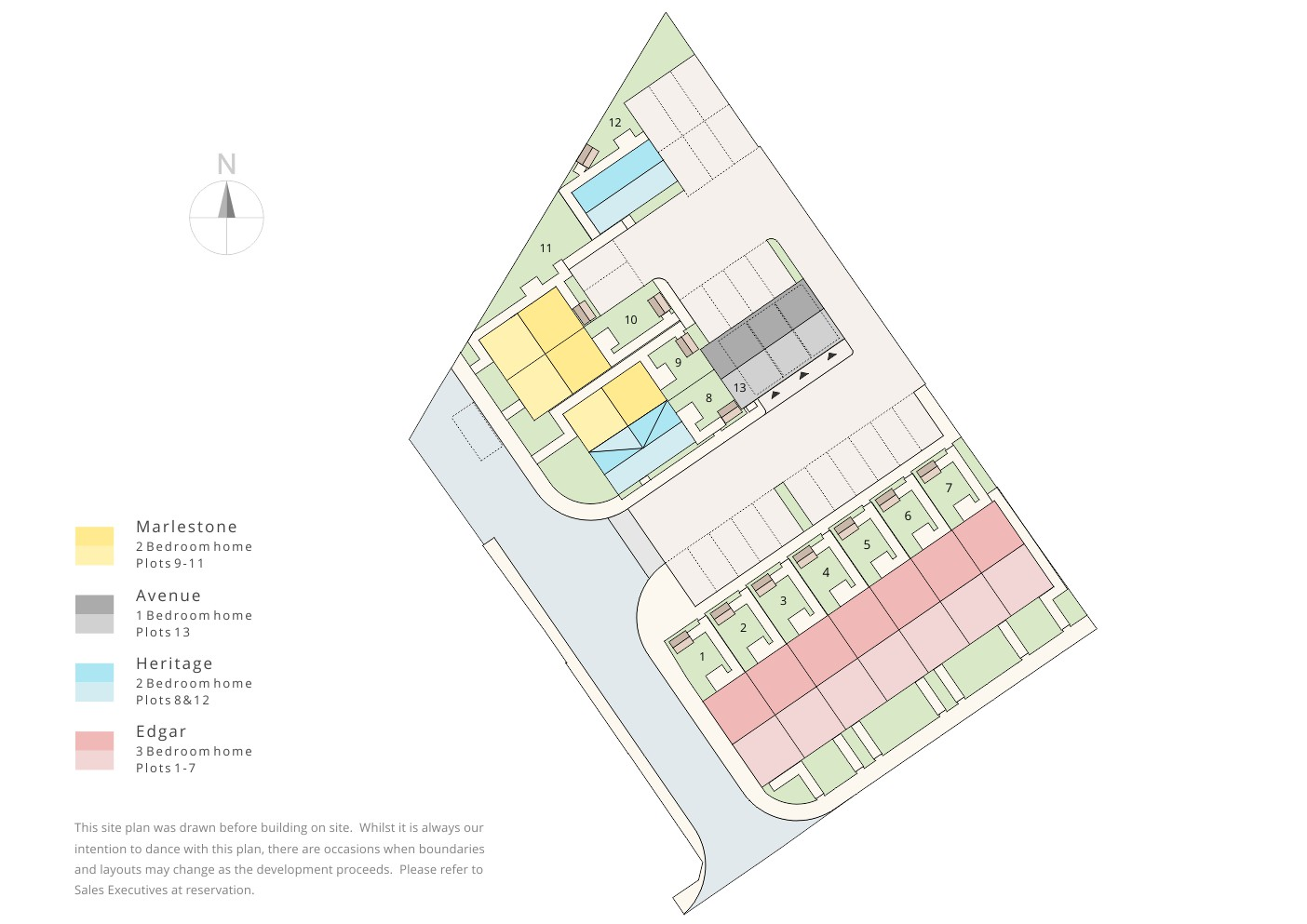 Colour site plan ben williams home design and architectural services colour elevation drawing housing development new homes planning application swindon cotswolds wiltshire ccuart Images