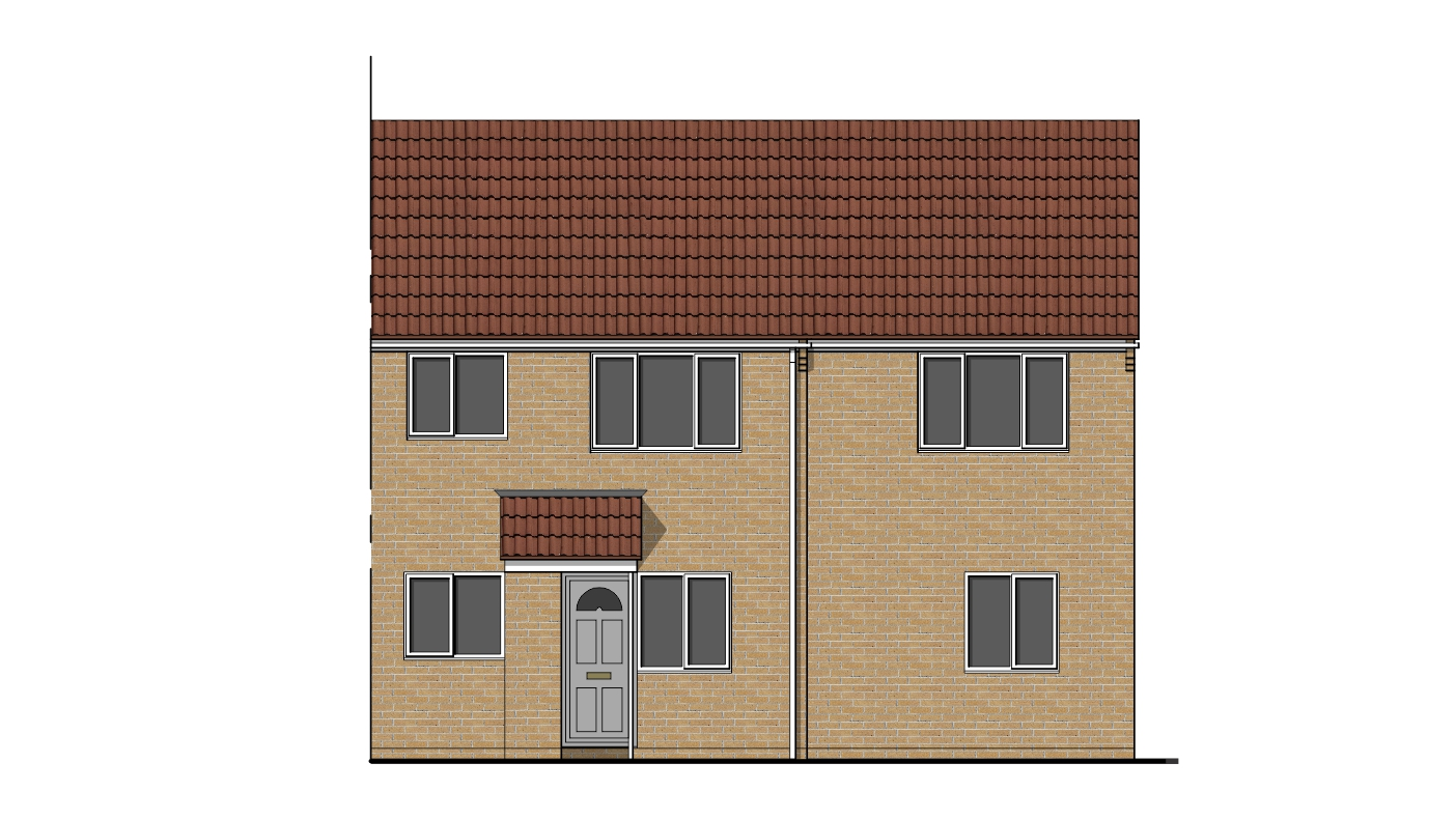 Front Elevation Extension : House extension drawing plans for swindon project ben