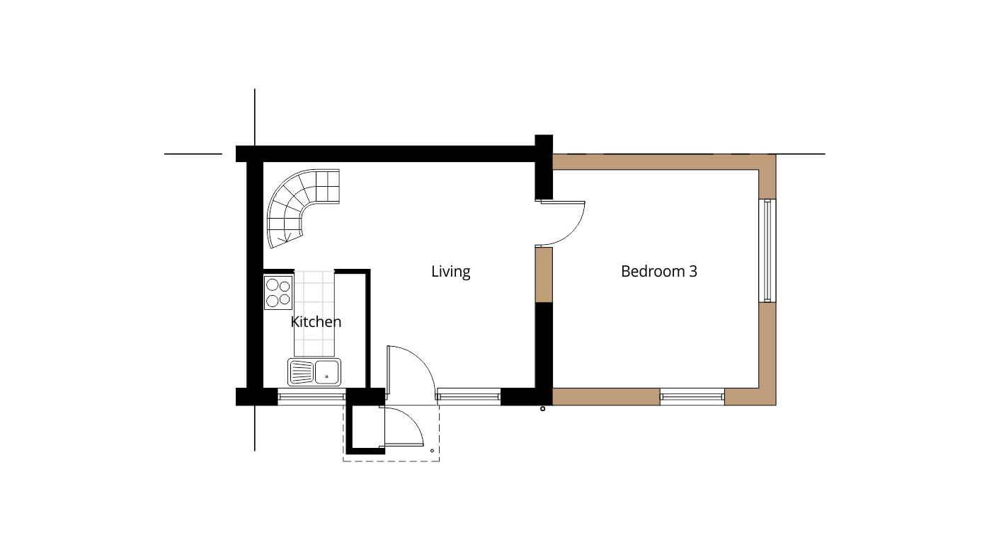 house extension drawing plans for swindon project ben house extension balham mainwood architects