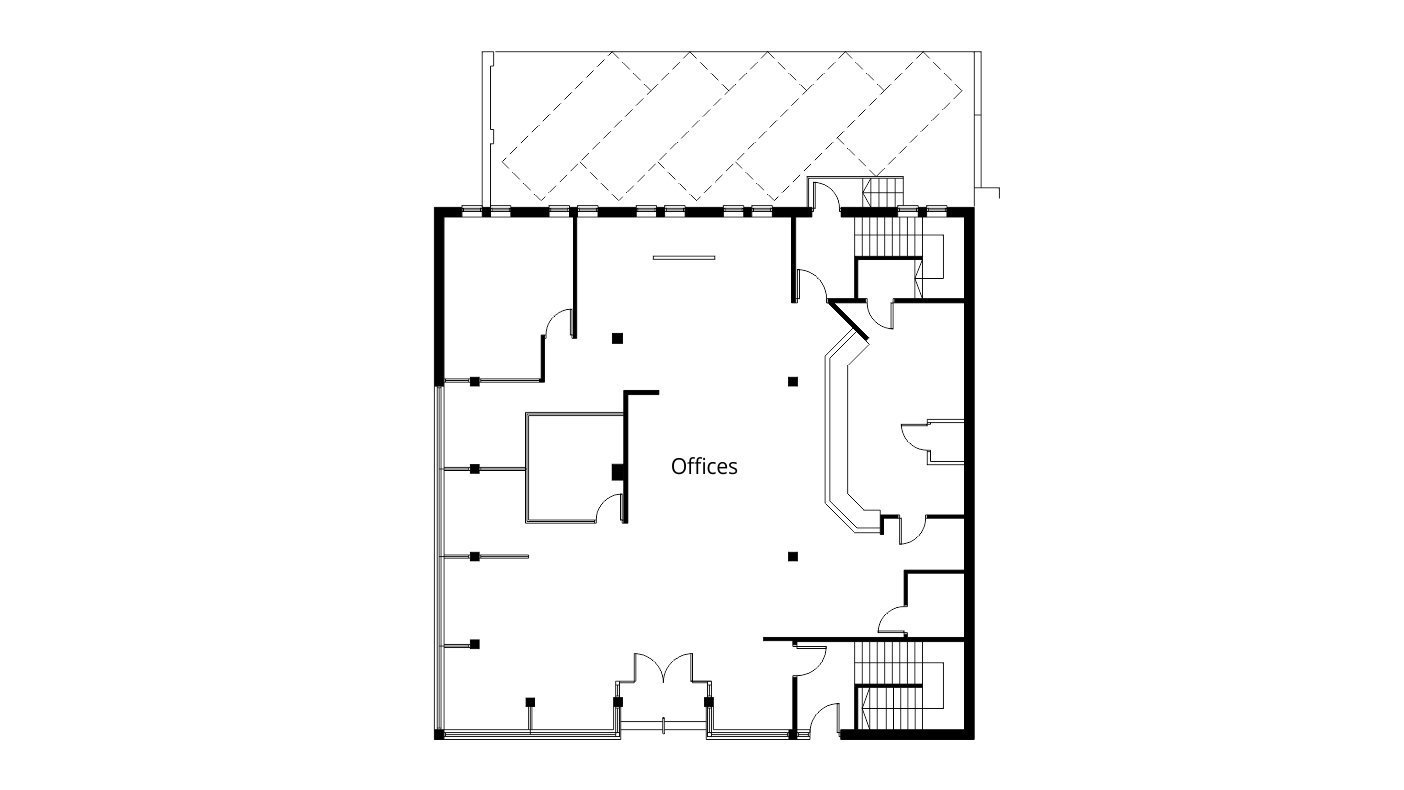 Convert empty offices to flats in swindon project ben for Floor plans for existing homes