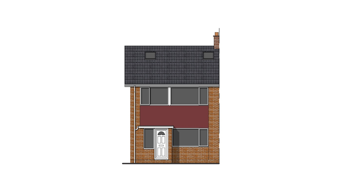 Front Elevation Extension : Single storey rear extension permitted development