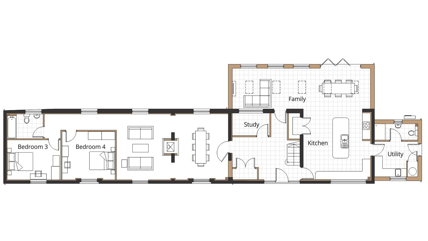 Barn Conversion Planning Application Drawings Project