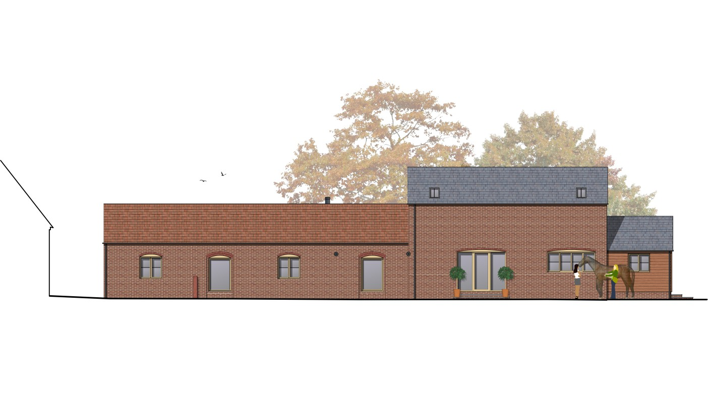 Front Elevation Planning Permission : Barn conversion listed building planning permission