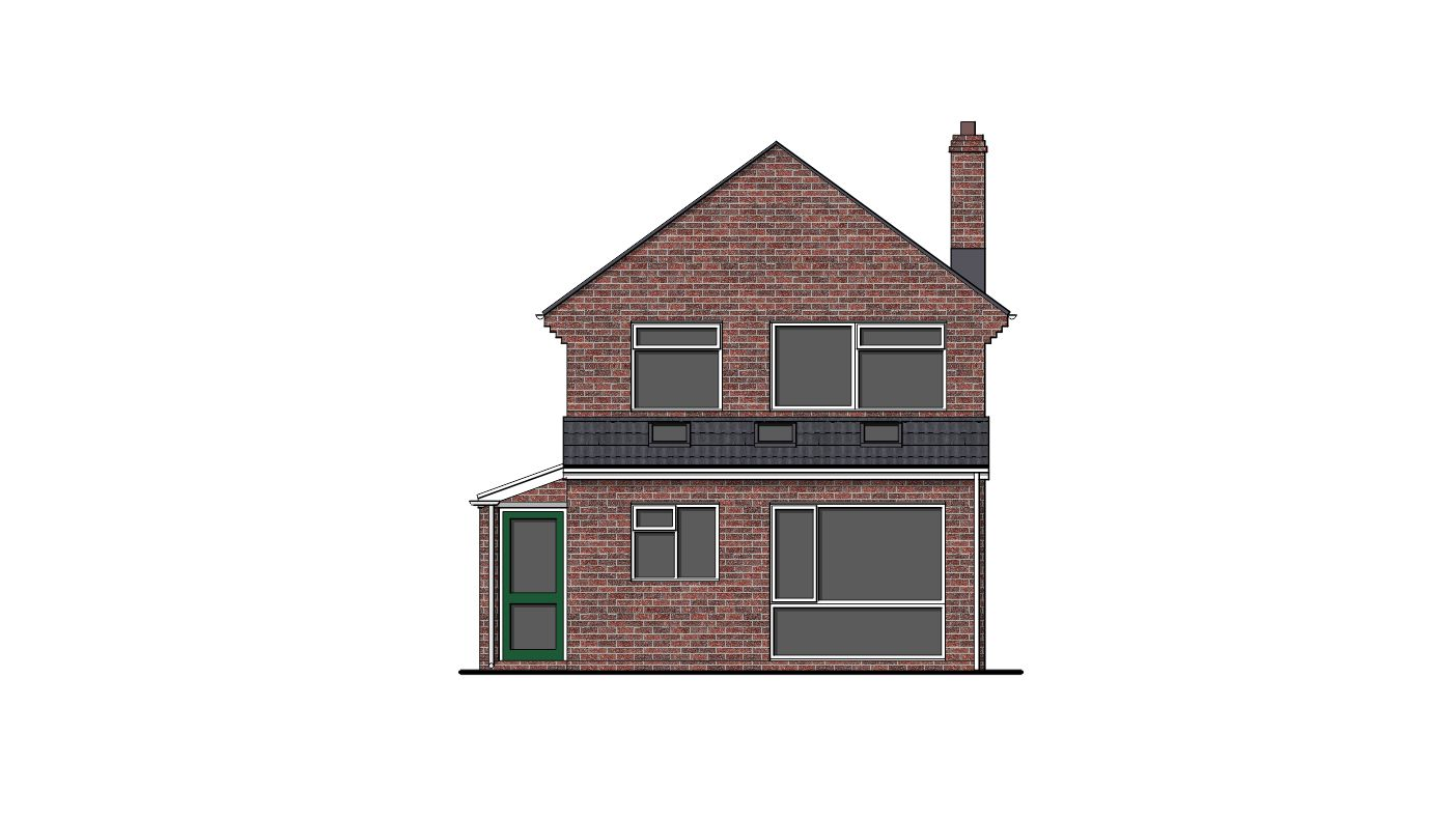 Front Elevation Extension : Garage conversion extension and bi fold doors project