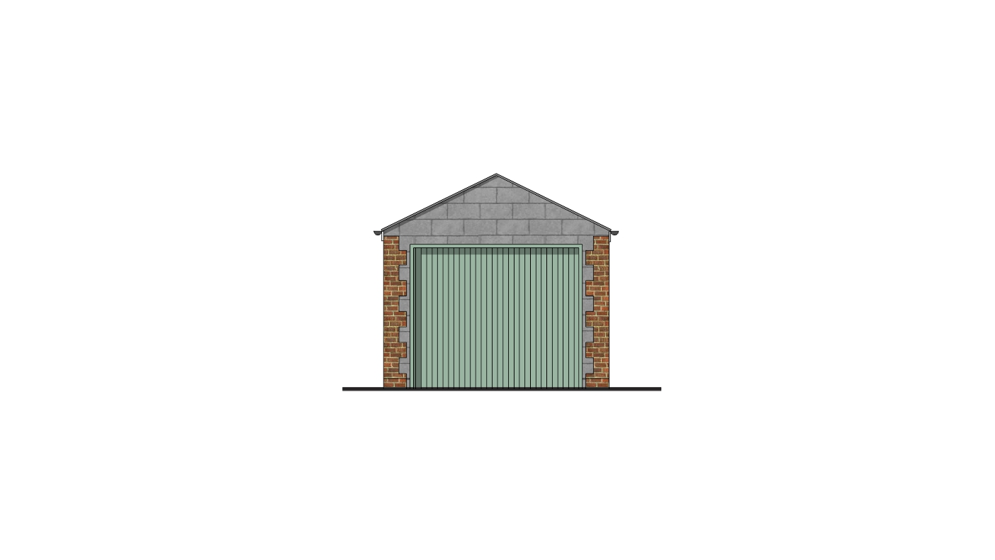 Front Elevation Planning Permission : New garage planning permission swindon borough council