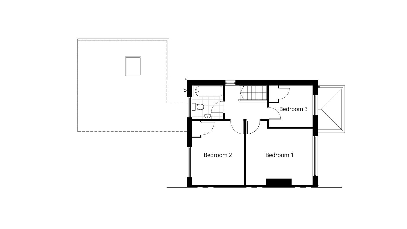 Single Storey Rear Extension Planning Application Drawings